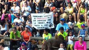#21agosto: Imagenes que muestran a un grupo sensible con la situación de los animales. alzando la voz por lo que no tienen voz